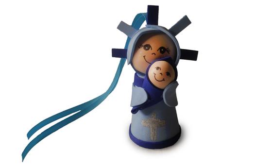 Fofucha de la Virgen del Pilar