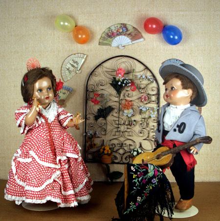 Mariquita y Juanin andaluces - Por Yuikari