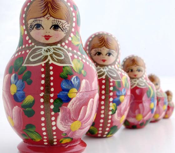 Muñecas matrioskas - fofuchas muñecas