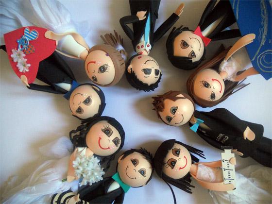 Pandilla amigos en muñecas fofuchas personlizadas