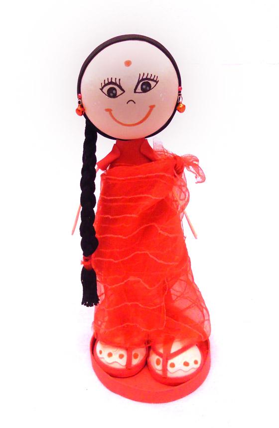 Muñeca Fofucha personalizada India