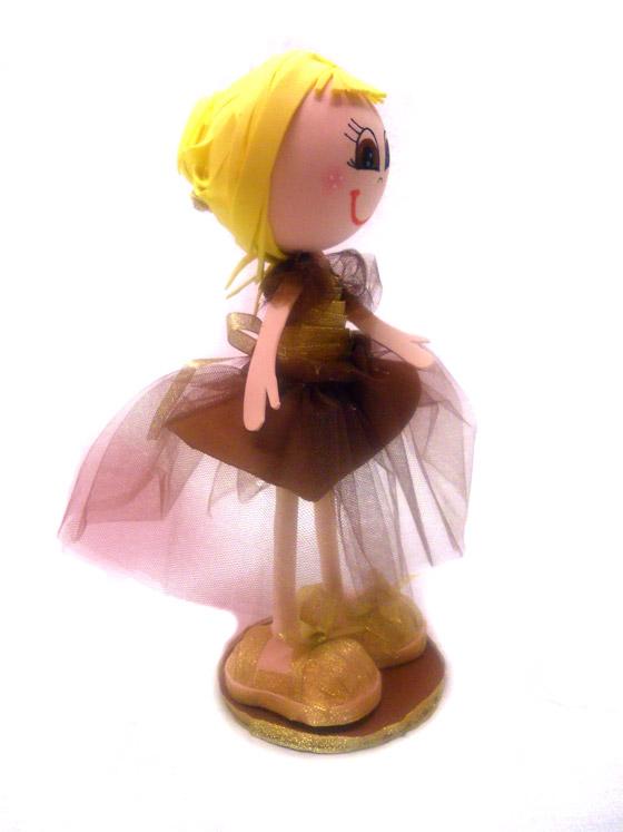 Muñeca fofucha personalizada niña