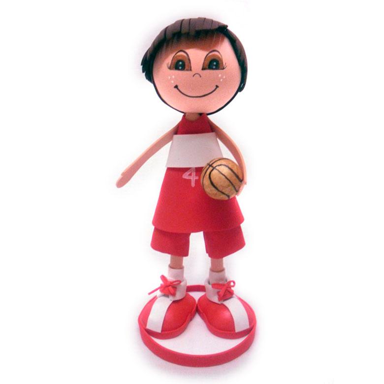 fofucha deportista de baloncesto