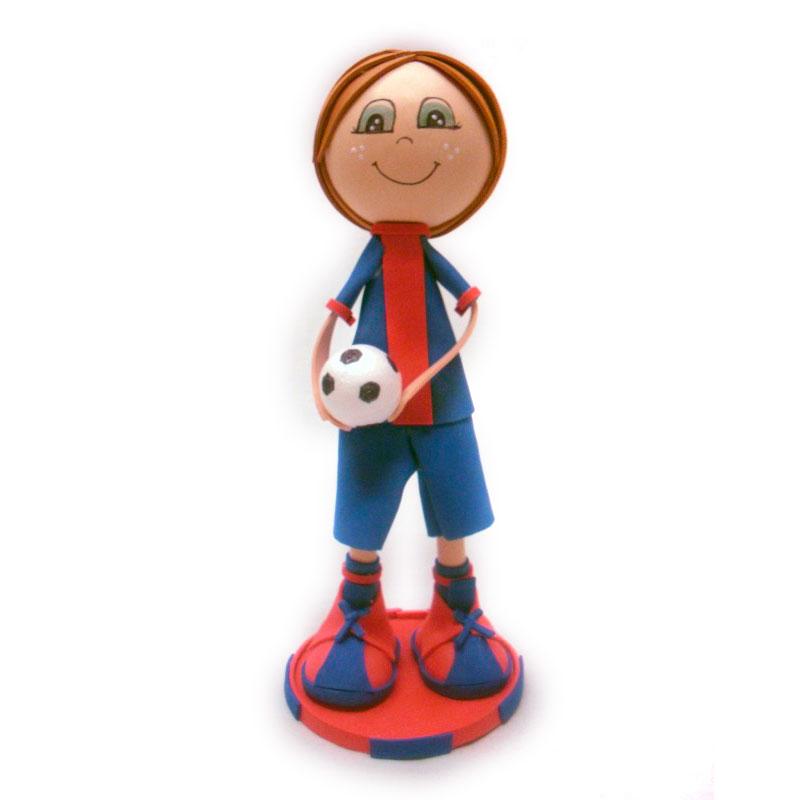 fofucha deportista de fútbol del barcelona