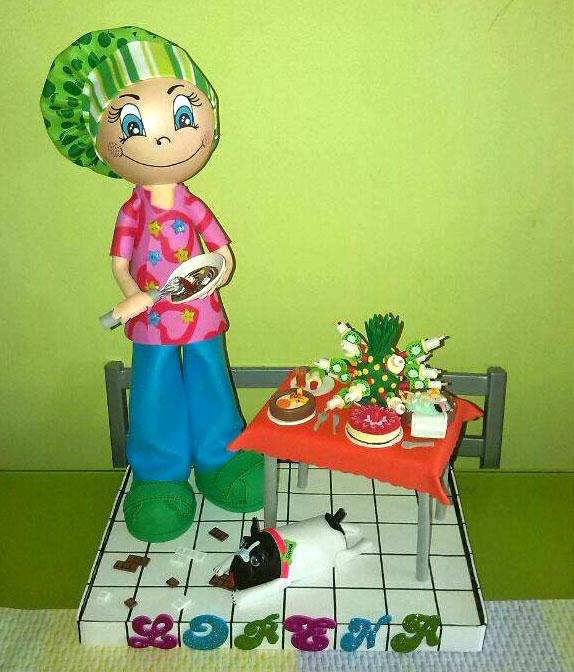 fofucha cocinera