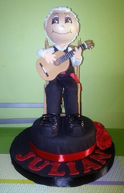 Fofucho con guitarra
